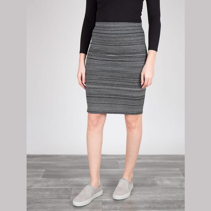 Dámska kožená Slip-on obuv bata, šedá, 516-2600 - 18