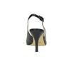 Dámske lodičky v štýle Sling-back bata, čierna, 624-6634 - 17