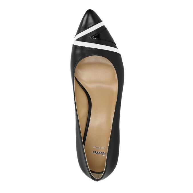 Elegantné dámske lodičky bata, čierna, 624-6633 - 19