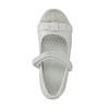 Dievčenské baleríny so suchým zipsom mini-b, biela, 221-1179 - 19