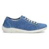 Ležérne kožené poltopánky weinbrenner, modrá, 546-9603 - 19