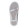 Strieborné dievčenské baleríny mini-b, strieborná, 229-2178 - 26