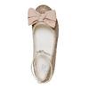 Dievčenské baleríny s mašľou mini-b, zlatá, 329-8241 - 19