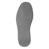 Pánske neformálne poltopánky z brúsenej kože bata, šedá, 853-2612 - 17