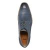 Modré kožené poltopánky bata, modrá, 826-9801 - 19