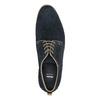 Poltopánky z brúsenej kože bata, modrá, 823-9602 - 19