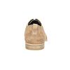 Ležérne kožené poltopánky bata, hnedá, 823-3602 - 17