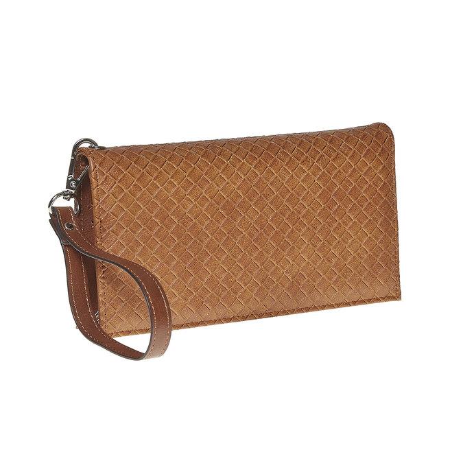 Dámska peňaženka s pútkom bata, hnedá, 941-3148 - 13