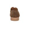 Kožené perforované poltopánky bata, hnedá, 823-4601 - 17