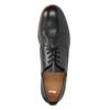 Kožené pánske čierne poltopánky bata, čierna, 824-6907 - 19