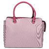 Pruhovaná dámska kabelka bata, ružová, 961-5747 - 26