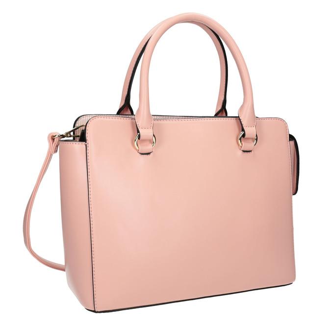 Ružová dámska kabelka bata, ružová, 961-8747 - 13