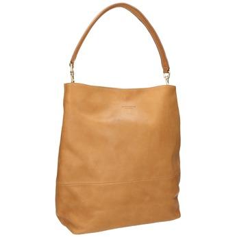 Kožená kabelka s odnímatelnými rúčkami vagabond, béžová, 964-8051 - 13