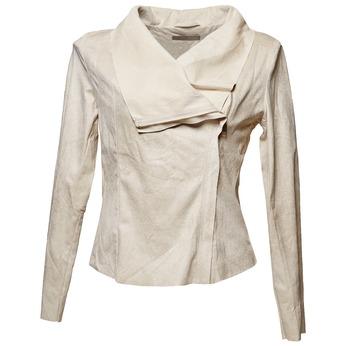 Dámská bunda s asymetrickým zipsom bata, béžová, 979-8635 - 13