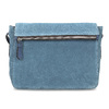 Modrá kožená Crossbody kabelka bata, modrá, 963-9127 - 26