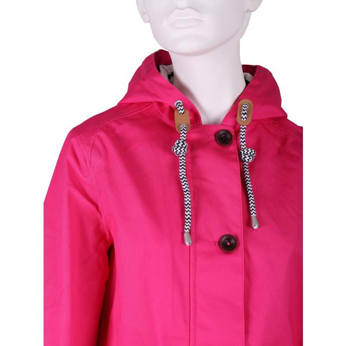 Ružová dámska bunda s kapucňou joules, ružová, 979-5010 - 16