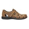 Kožené hnedé pánske sandále bata, hnedá, 864-4600 - 15