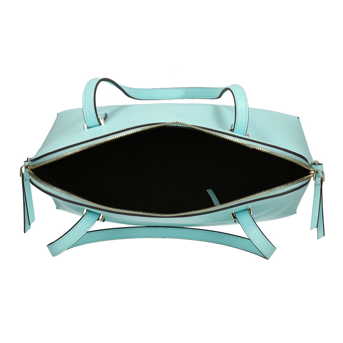 Modrá dámska kabelka bata, modrá, 961-9700 - 15