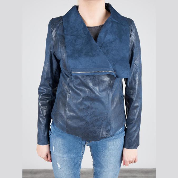 Modrá jarná bunda bata, modrá, 979-9635 - 15