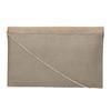 Listová kabelka s hadím vzorom bata, hnedá, 969-8643 - 19