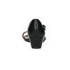 Sandále na klinovom podpätku bata, čierna, 661-6601 - 17