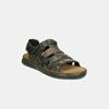 Pánske letné sandále z brúsenej kože bata, hnedá, 866-4610 - 26