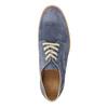 Kožené poltopánky na výraznej podrážke weinbrenner, modrá, 823-9607 - 19