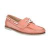 Dámske kožené mokasíny bata, ružová, 526-5632 - 13