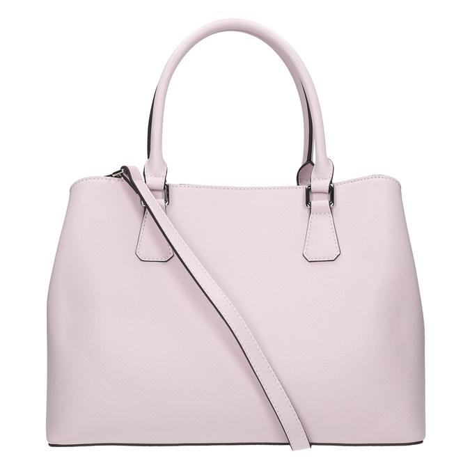 Ružová kabelka s pevnými rúčkami bata, ružová, 961-5701 - 17