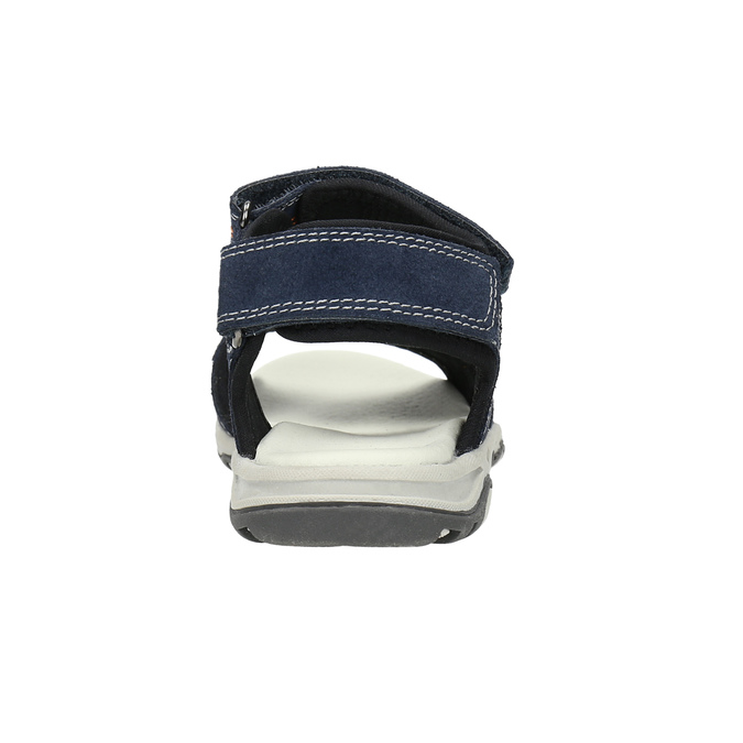 Detské sandále na suchý zips mini-b, modrá, 463-9602 - 17