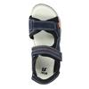 Detské sandále na suchý zips mini-b, modrá, 463-9602 - 19