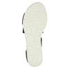 Sandále s pružnými remienkami bata, čierna, 661-6607 - 26