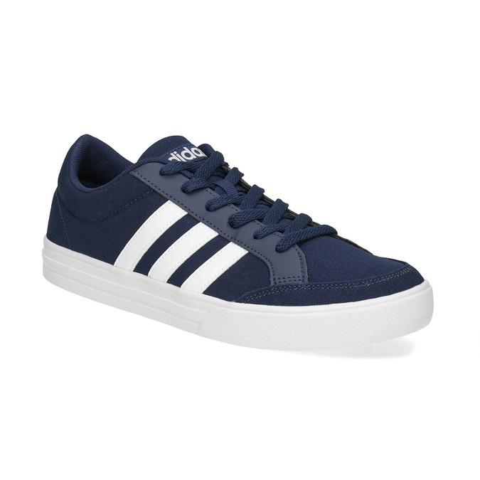 Modré pánske textilné tenisky adidas, modrá, 889-9235 - 13