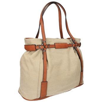Dámska kabelka bata, béžová, 969-8352 - 13