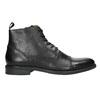 Kožená členková obuv vagabond, čierna, 894-6001 - 15
