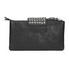 Kožená listová kabelka s dvomi vreckami bata, čierna, 964-6226 - 19