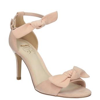 Dámske sandále s mašľou insolia, ružová, 769-5614 - 13