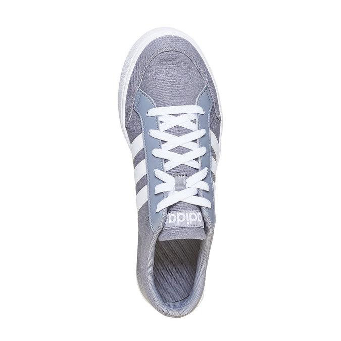 Šedé pánske tenisky adidas, šedá, 889-2235 - 19