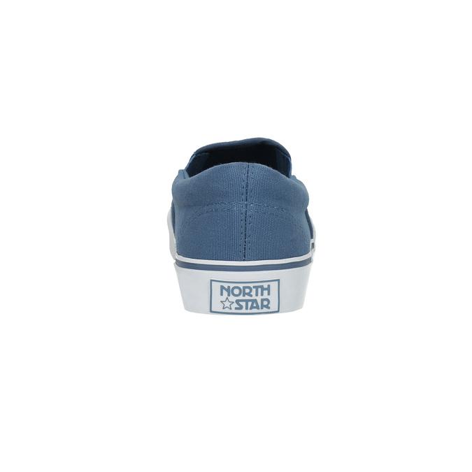 Modrá obuv v štýle Slip-on north-star, modrá, 889-9286 - 17