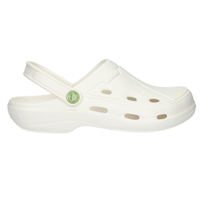 Dámske biele sandále coqui, biela, 572-1610 - 15