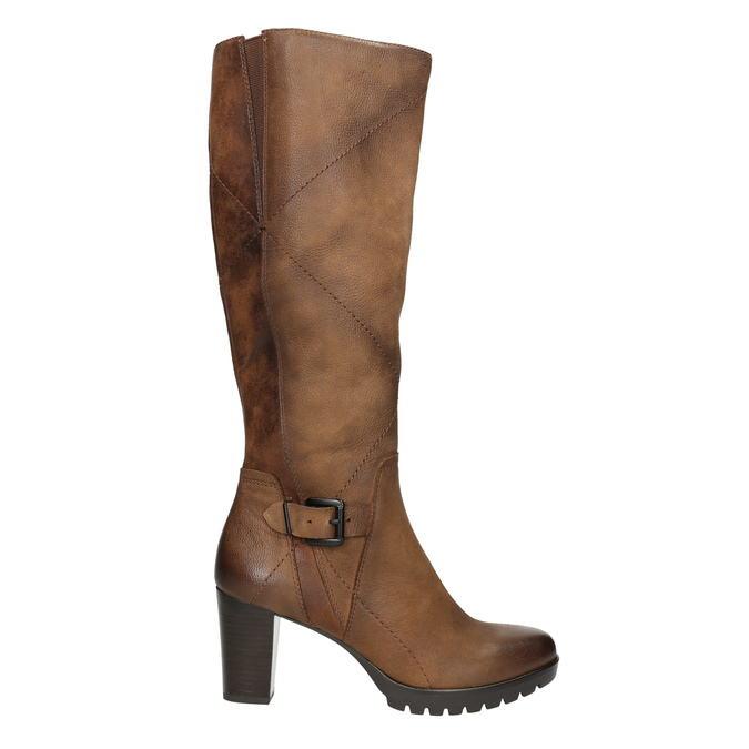 Dámske čižmy bata, hnedá, 796-4601 - 15