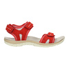 Červené kožené dámske sandále weinbrenner, červená, 566-5608 - 15