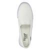 Dámska obuv v štýle Slip-on tomy-takkies, biela, 589-1171 - 19