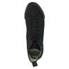 Čierne členkové tenisky tomy-takkies, čierna, 589-6173 - 19