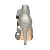 Dámske sandále na podpätku bata, šedá, 761-2614 - 17