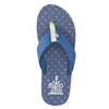 Pánske modré žabky north-star, modrá, 871-9616 - 26