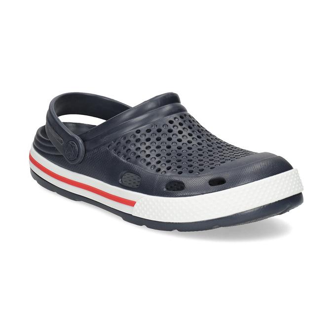 Modré dámske sandále coqui, modrá, 572-9611 - 13