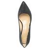 Dámske kožené lodičky insolia, čierna, 726-6647 - 19