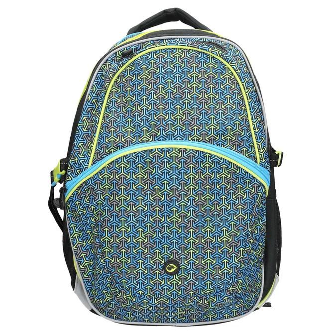 Školský batoh bagmaster, modrá, 969-7648 - 26