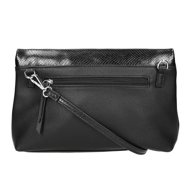 Crossbody kabelka s klopou bata, čierna, 961-6501 - 26